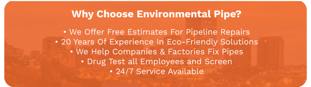 Pipe Bursting Services new pipe installation